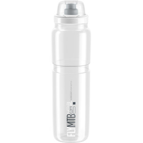 Elite Fly MTB Drinking Bottle 950ml clear/grey logo
